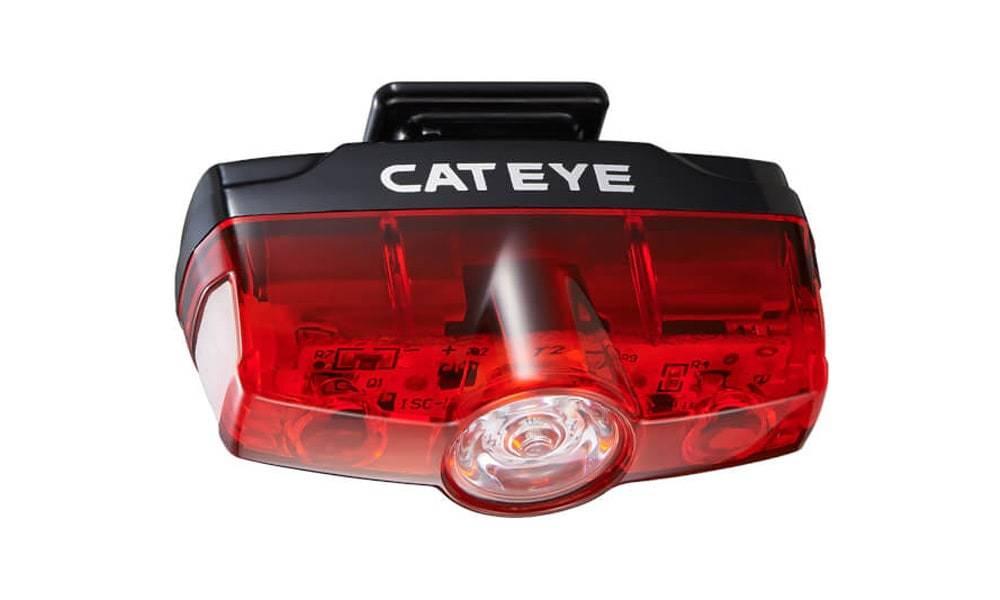 Cateye Rapid Mini USB Rear Light 25 Lumen
