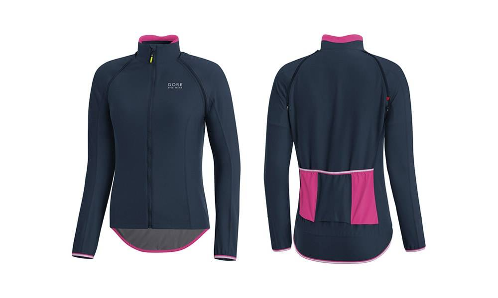 Gore Bike Wear Power Women's Gore Windstopper Zip-Off Jersey