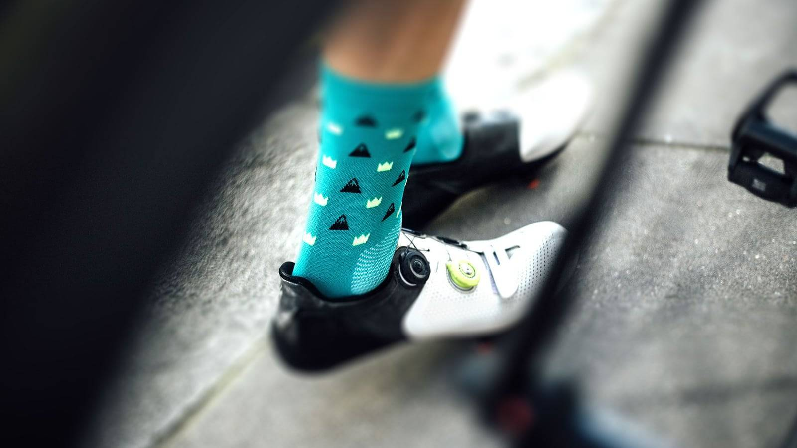 Stylish cycling socks for summer