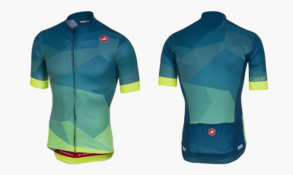 Castelli Flusso Summer Cycling Jersey