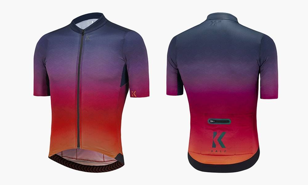 Kalf Flux Print Men's Short Sleeve Jersey