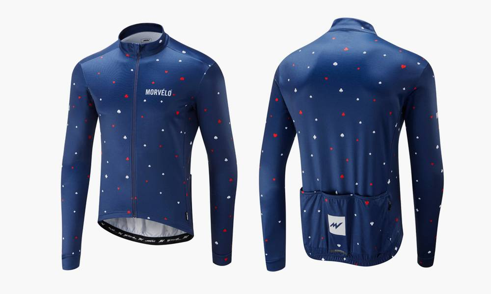 Morvelo Thermoactive Suits Long Sleeve Cycling Jersey