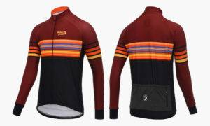 Stolen Goat Orkaan Sundawn Long Sleeve Cycling Jersey